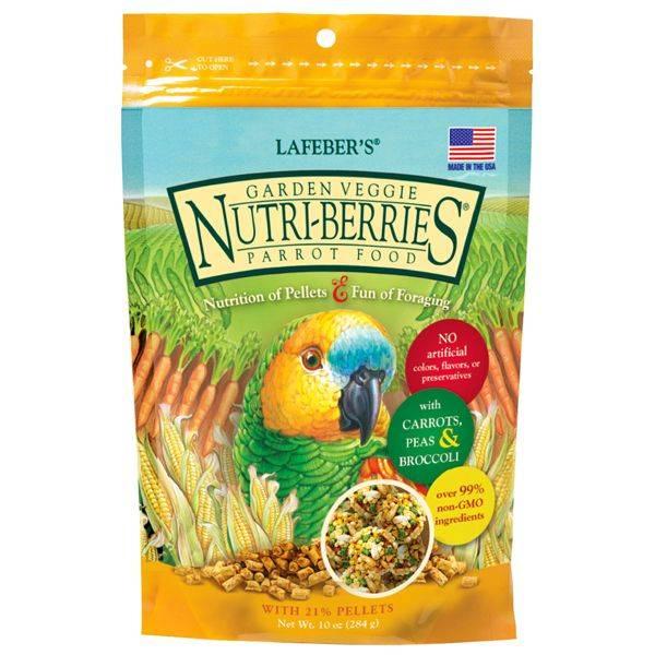 Lafeber Nutri -Berries – Градински Зеленчуци – 284 гр.
